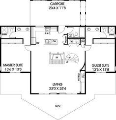 lake house floor plan