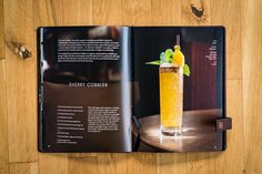 The Office • Classic Cocktails · Berliner Speisemeisterei Beste Cocktails, Best Cookbooks, Classic Cocktails, Cobbler, The Office, Good Things, Food, Caipirinha, Alcohol Free