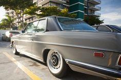 FS: 1972 Mercedes - Lowered, two tone, new carbs, custom interior - StanceWorks Mercedes W114, Mercedes 500, Mercedes Benz Cars, Lexus Ls, Old School Cars, Classic Mercedes, Luxury Cars, Classic Cars, Interior