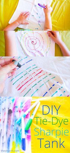 DIY Tie-Dye Tank Top