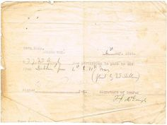 1916 May) Travel Pass issued at the Town Hall, Blackrock. A part mimeograph Curfew Pass to F. McGough for the period 4 - 11 May Town Hall, Period, Travel, Viajes, Destinations, Traveling, Trips