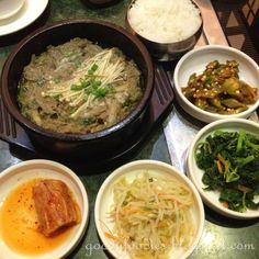 GoodyFoodies:Beef bulgogi and ban chan