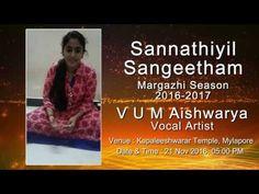 "GIRI FINE ARTS ""SANNITHIYIL SANGEETHAM"" SEASON CONCERT 2016-17 PROMO 6"