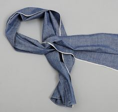 Selvedge chambray. That'll do.