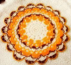 Słoneczna serwetka na tarasowy stoliczek | Szysia