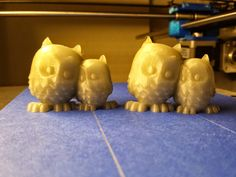 Solidoodle Printed Owls