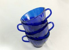 Hey, I found this really awesome Etsy listing at https://www.etsy.com/listing/251425231/vintage-vereco-france-cobalt-tea