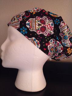 76e1ce3a8f6 Women s Surgical Cap Scrub Hat Chemo Cap Floral by Scrubnogginz Surgical  Caps