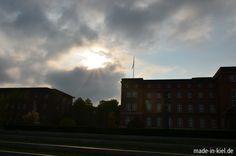 Grau, aber trocken in Kiel