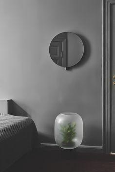 Kollage mirror and Nebl planter