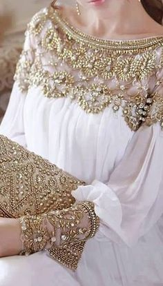 Pakistani couture, Beautifully embellished, sparkles & chiffon.