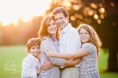 Sunset Family Pose