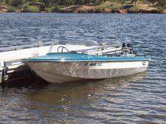 Gorgeous 1970 Glastron V-142 SkiFlite  boat with 1965 Merc 500 motor