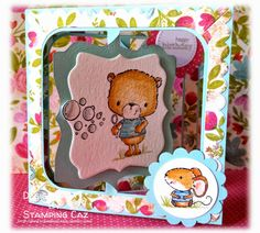 Cute Critters Accordion Card (A STAMPING  CHIRPING Corner)