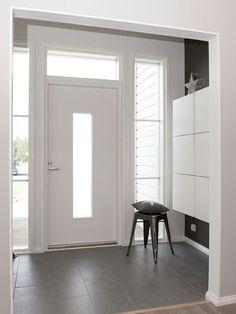 Eteinen Tallit, Entrance, Sweet Home, Entryway, Doors, Mirror, House, Interiors, Dreams
