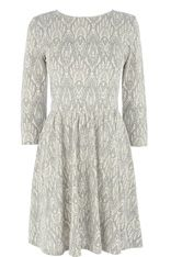 Lace Textured Dress
