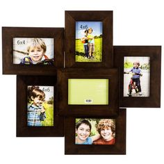 """Coffee Collage Wall Frame - 4"""" x 6"""""""