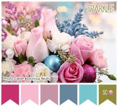 Sparkle - Color Palette  http://inspiresweetness.blogspot.com