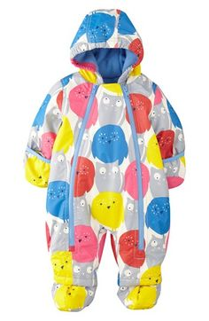 Mini Boden Print Waterproof Snowsuit (Baby Girls) available at #Nordstrom