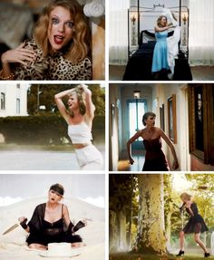 Taylor at some of her more scarier moments
