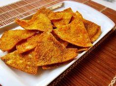 Receita de Doritos feito em casa - Cyber Cook Receitas