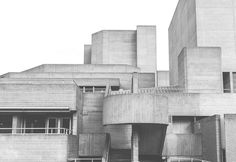 A guide to finding brutalist architecture in London, including Trellick Towers, the Hayward Gallery and the Barbican Centre. Hayward Gallery, London Architecture, Barbican, Brutalist, Wood Projects, Facade, Concrete, Multi Story Building, Woodworking