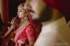Evneet and Chanpreet, Thailand Wedding Bride, Our Wedding, Destination Wedding, Wedding Venues, Anand Karaj, Yellow Lehenga, Thailand Wedding, Colored Smoke, Blazer And Shorts