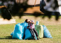 #Refugees often arrive in #Germany with little but a few plastic bags of belongings.