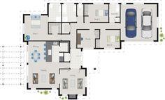 Kendrick House Design Floor Plan   G.J. Gardner Homes