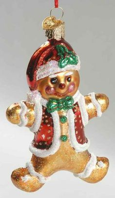 Merck Family's OLD WORLD CHRISTMAS Gingerbread Boy 8856351