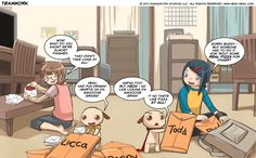 If you haven't checked out Nemu*Nemu, do it! An absolutely adorable web comic.