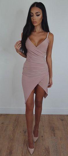 Buy Jenner Wrap Dress - Rose For Only 0   Sorelle UK