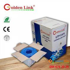 Cáp mạng Golden Link FTP chống nhiễu Cat5E