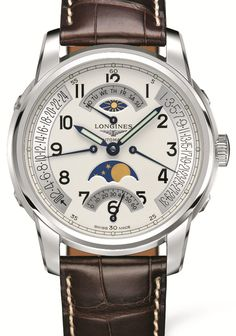 Longines Saint-Imier Collection Retrograde Moon Phases | Perpétuelle - First In Watches