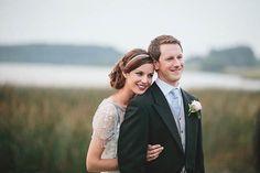 Jenny Packham wedding dress, farm wedding