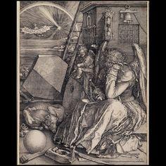 :Albrecht Dürer - Melancolia I Albrecht Durer, William Blake, Rembrandt, Melencolia I, Antonio Francisco Lisboa, Städel Museum, Jaco, Magic Squares, Caspar David Friedrich