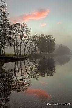 Loch Achray, Trossachs, Scotland; photo by Karl Williams