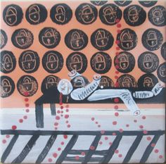 LOCKmotif #Deaf28Challenge #outsiderart ( a deaf man jailed  33 years that he did not commit a crime) #STOPABUSEDEAF