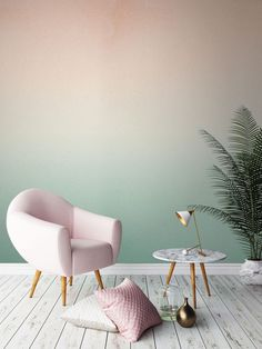 Like a Miami sunset, this gorgeous mural by Murals Wallpaper will give your walls depth and your home a soothing glow all year round.