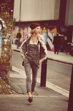 Free People overalls!! Street swag!!- Definitely want to get my hands on these!