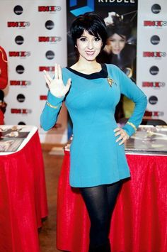 And You Thought Star Trek Was Just For Nerds! 32 Of The Hottest Trekkie Cosplay Girls Cosplay Outfits, Cosplay Girls, Cosplay Costumes, Fantasy Costumes, Star Trek Cosplay, Star Trek Rpg, Star Wars, Star Trek Continues, Real Costumes