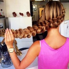 Dutch 3 strand braid