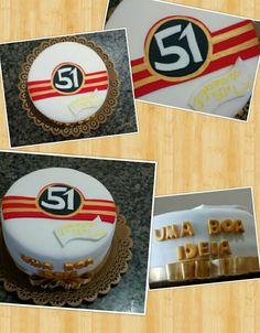 51 cachaça Samara, Fiesta Cake, Safari Birthday Cakes, Adhesive, Decorating Cakes, 15 Years