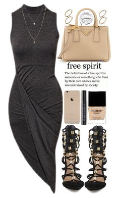 """""""july 25, 2015"""" by inescans ❤ liked on Polyvore featuring Club L, Schutz, ASOS, Urban Decay, Butter London, Urbanears and Prada"""