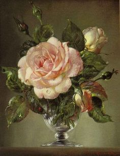 """""""Roses"""" by Cecil Kennedy"""