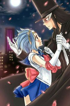 Because no fandom is complete without at least ONE Sailor Moon crossover. :3