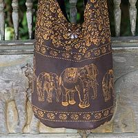 Brown Siam from @NOVICA, They help #artisans succeed worldwide.  great for those flea market days to put your goodies in.