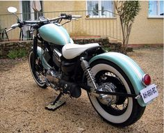 Custom virago 535 – Restauration & customisation virago 535