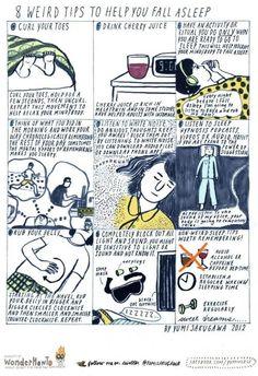 Weird Tricks To Help Yourself Fall Asleep