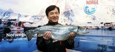 I get a fish~ Jackie Chan
